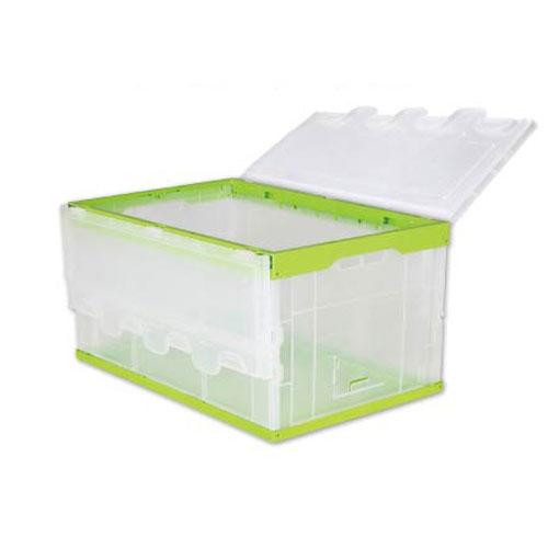 plestik iten befalling foldie kontener doaze plestik tote klean opslach bin doaze kontener
